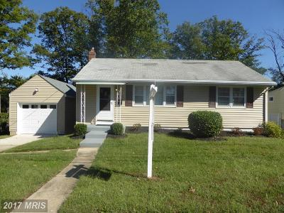 Lanham Single Family Home For Sale: 7502 Finns Lane