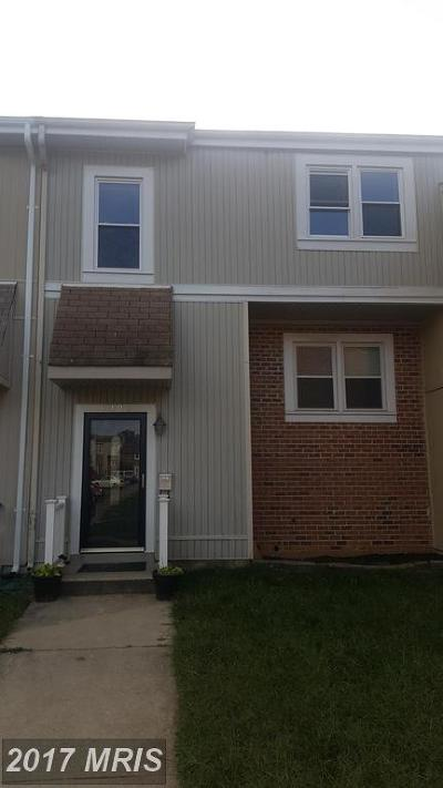 Fort Washington Townhouse For Sale: 6427 Whitwell Court