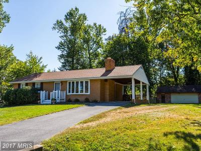 Laurel Single Family Home For Sale: 16100 Malcolm Drive