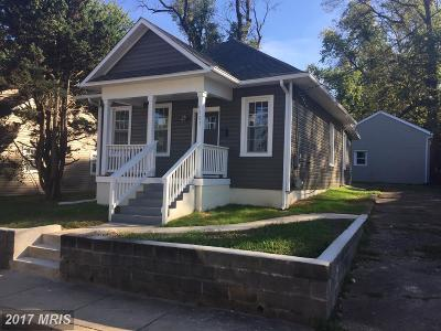 Brentwood Single Family Home For Sale: 3507 Upshur Street