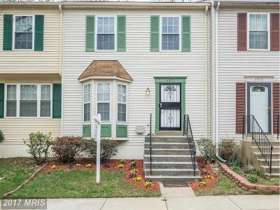 Suitland Townhouse For Sale: 4075 Silver Park Terrace