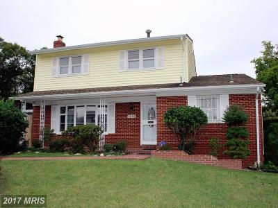 Hyattsville Single Family Home For Sale: 1201 Raydale Court