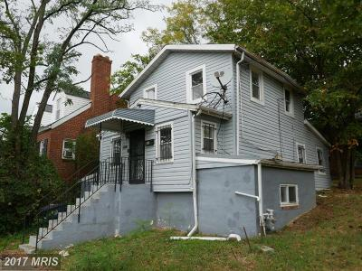 Capitol Heights Single Family Home For Sale: 1117 Eastern Avenue