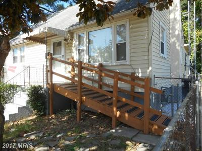 Capitol Heights Single Family Home For Sale: 5902 Burgundy Street