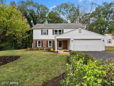 Bowie Single Family Home For Sale: 3200 New Coach Lane