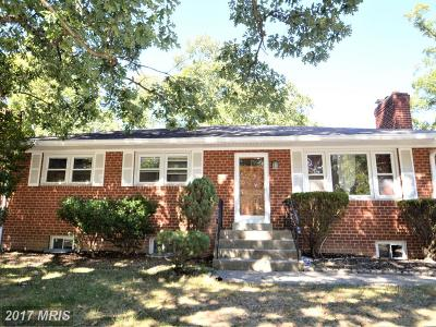 Oxon Hill Single Family Home For Sale: 922 Forest Drive S