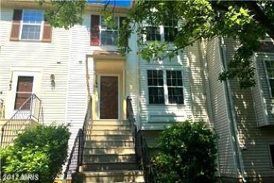 Upper Marlboro Townhouse For Sale: 11441 Honeysuckle Court #4-3