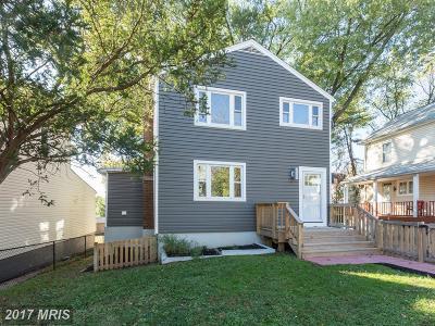 Mount Rainier Single Family Home For Sale: 3207 Bunker Hill Road