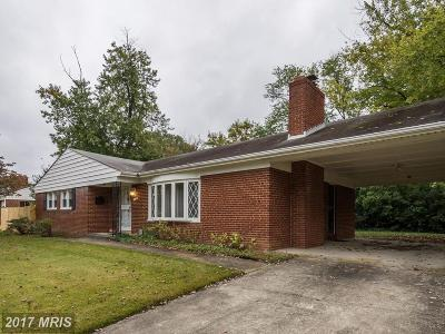 Clinton Single Family Home For Sale: 5905 Arbroath Drive