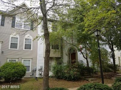 Upper Marlboro Townhouse For Sale: 4710 Amberfield Drive
