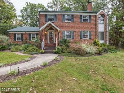 Hyattsville Single Family Home For Sale: 7107 Wells Parkway