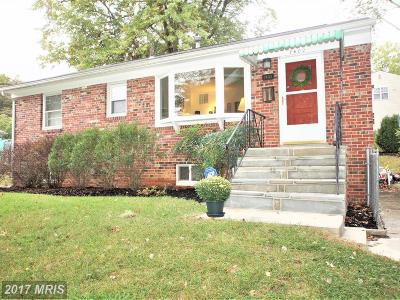 New Carrollton Single Family Home For Sale: 7402 Leahy Road