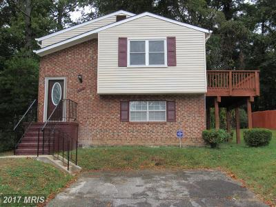 Capitol Heights Single Family Home For Sale: 1607 Ruston Avenue