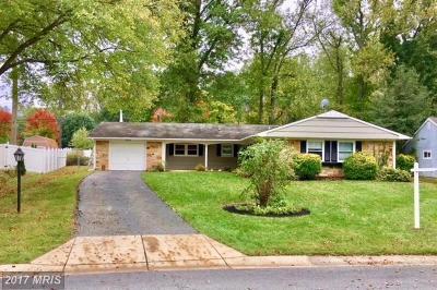 Bowie Single Family Home For Sale: 16105 Audubon Lane