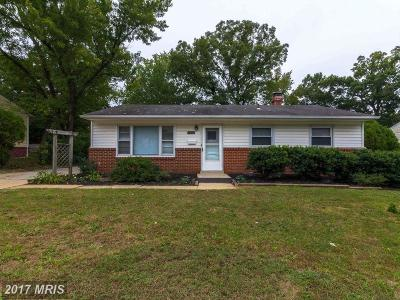 Lanham Single Family Home For Sale: 9107 Good Luck Road
