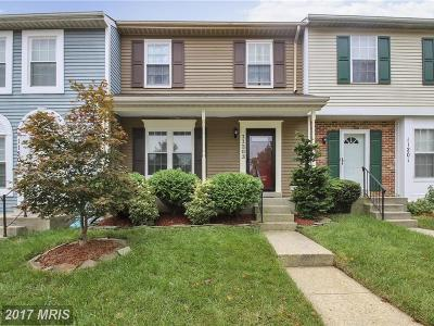 Upper Marlboro Townhouse For Sale: 11203 Kettering Place