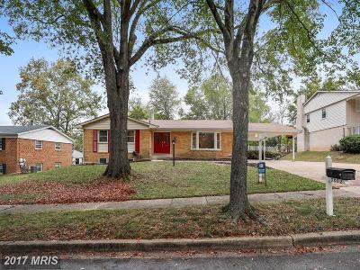 Upper Marlboro Single Family Home For Sale: 10802 Knoll Court