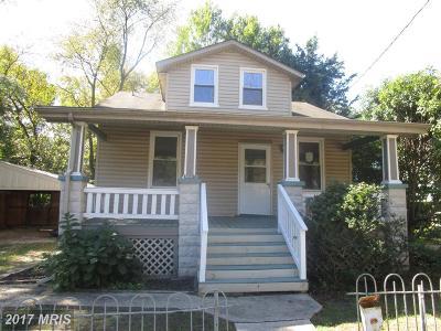 Mount Rainier Single Family Home For Sale: 4204 Rainier Avenue