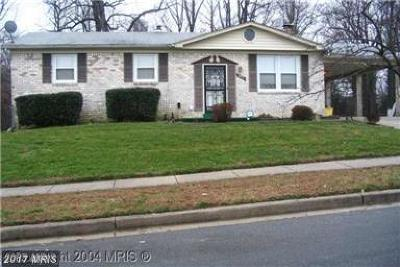 Clinton MD Single Family Home For Sale: $250,000
