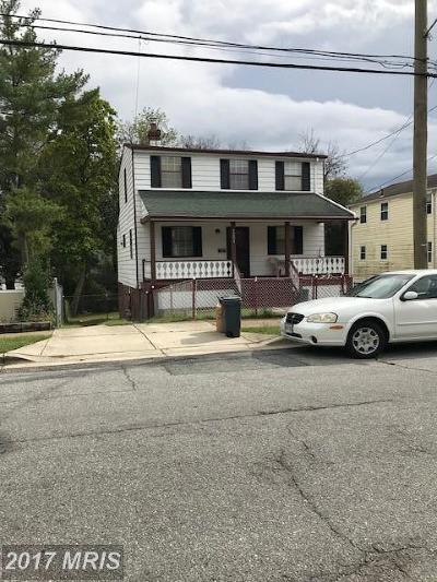 Mount Rainier Single Family Home For Sale: 4203 29th Street