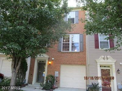 Fort Washington Townhouse For Sale: 3006 Gallop Way
