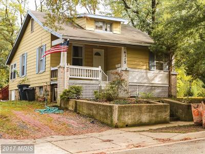 Beltsville Single Family Home For Sale: 4525 Naples Avenue