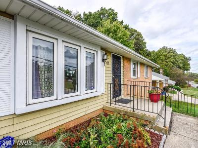 Capitol Heights Single Family Home For Sale: 905 Shady Glen Drive