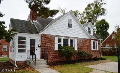 Hyattsville Single Family Home For Sale: 7106 24th Avenue