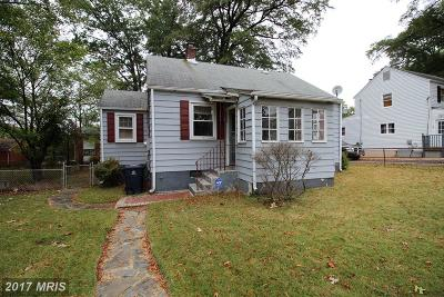 Oxon Hill Single Family Home For Sale: 105 Huron Drive N