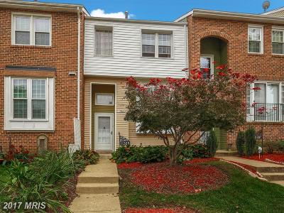 Upper Marlboro Townhouse For Sale: 11309 Kettering Way