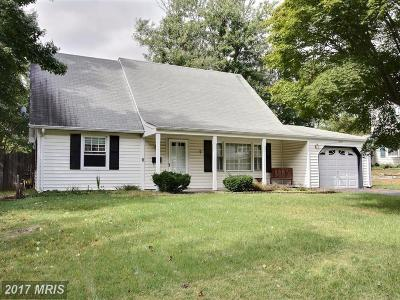 Bowie MD Single Family Home For Sale: $300,000