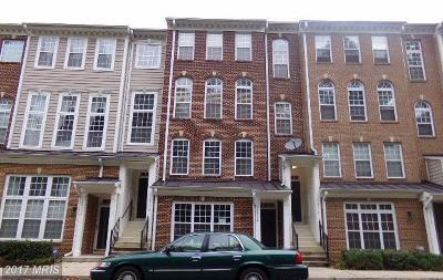 Upper Marlboro Townhouse For Sale: 12308 Open View Lane #1005