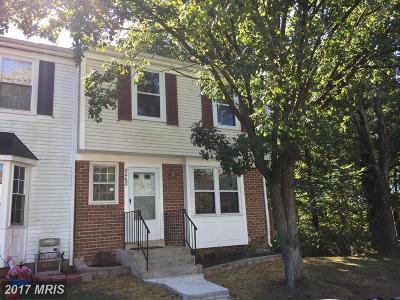 Laurel Townhouse For Sale: 8463 Snowden Oaks Place