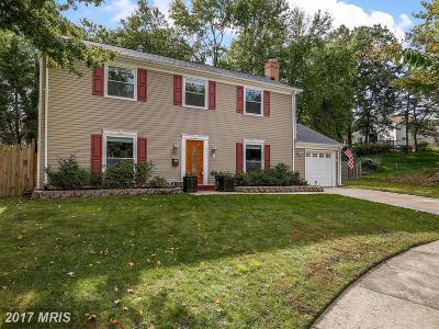 Laurel Single Family Home For Sale: 9101 Montague Court