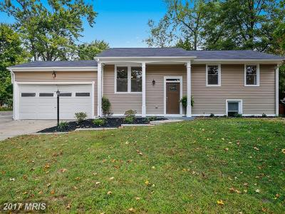 Suitland Single Family Home For Sale: 5524 Hill Way