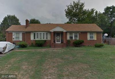 Temple Hills Single Family Home For Sale: 7003 Westchester Drive