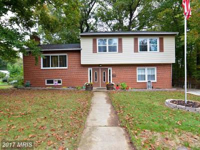 Greenbelt Single Family Home For Sale: 1 Lakeview Circle