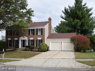 Bowie MD Single Family Home For Sale: $449,999