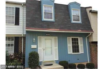 Landover Townhouse For Sale: 9039 Congress Place