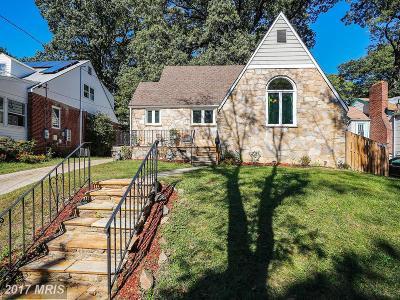 Hyattsville Single Family Home For Sale: 3906 Kennedy Street