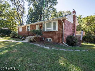 Oxon Hill Single Family Home For Sale: 6617 Dulin Drive