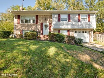 Bowie, Upper Marlboro Single Family Home For Sale: 16704 Dorchester Place