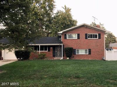 Single Family Home For Sale: 6710 Berkshire Drive