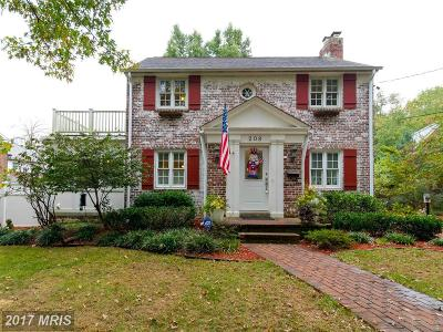 Laurel Single Family Home For Sale: 208 Patuxent Road