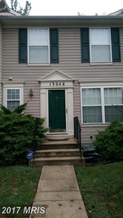 Upper Marlboro Townhouse For Sale: 13046 Salford Terrace