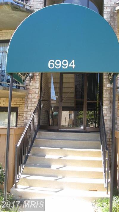 Greenbelt Rental For Rent: 6994 Hanover Parkway #4
