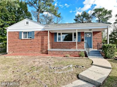 Temple Hills Single Family Home For Sale: 4302 Riviera Court