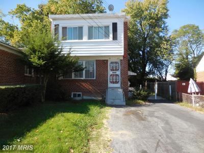 Temple Hills Rental For Rent: 3507 Dixon Street