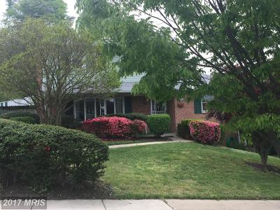 Hyattsville Single Family Home For Sale: 1205 Raydale Court