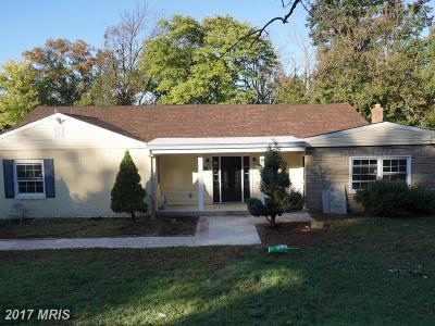 Beltsville Single Family Home For Sale: 11420 Montgomery Road